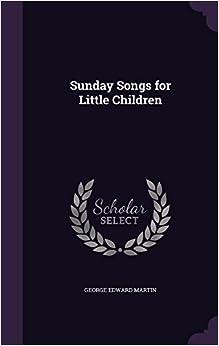 Book Sunday Songs for Little Children