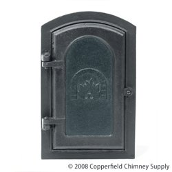 Chimney 61058 Woodfield Cast-iron Access Door 8 x 12 Inch Outside Dimensions 11 x 17.25 Inch by - Shops Woodfield Of