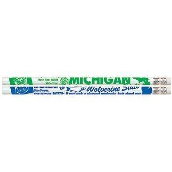 d2384 Michigan Michigan Michigan – 36 Michigan Estado rápido hechos lápices 586d07