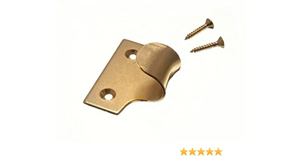 8 unidades, revestimiento de lat/ón Tiradores para ventanas de guillotina Onestopdiy.com