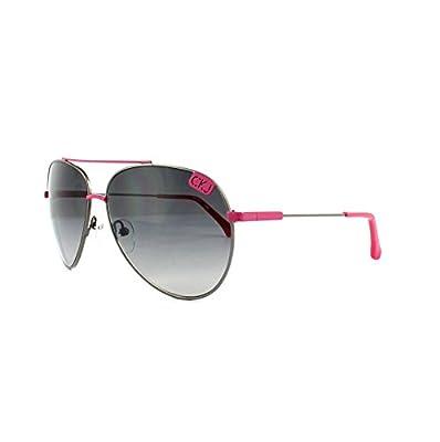 Calvin Klein Jeans Sunglasses CKJ106S 008 Gunmetal Pink Grey Gradient