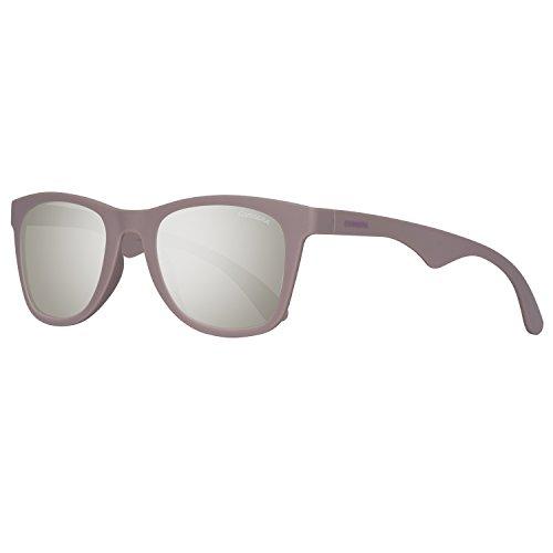 Carrera 6000/ST/S Sunglasses CA6000ST-0KVQ-SS-5123 - Mauve Frame, Silver Mirror Lenses, Lens (Sonnenbrille Trendy)