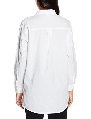 Saint Tropez N1250 - Blusa Mujer blanco (blanco 1000)