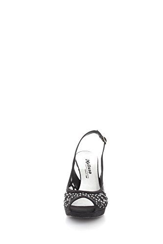 Melluso J438 Sandals Women Black YRgRu9