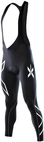 2XU Men's Compression Cycle Bib Tights (Black/Black, X-Large) (2xu Compression Cycle Short)