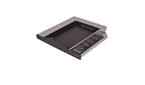 Carcasa adicional para disco duro HDD/SSD ODD, adaptador de marco ...