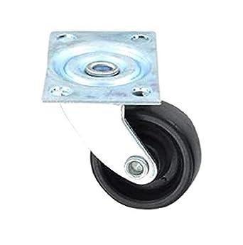 Bulk Hardware BH01562 - Rueda para muebles (tamaño: 40mm, pack de 4)