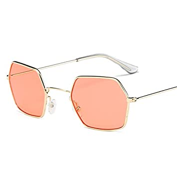 3b0c59b7a1 YUHANGH Gafas Cuadradas Pequeñas Hombres Y Mujeres Gafas De Sol Retro Gafas  De Sol Ocean Gafas De Sol Transparentes: Amazon.es: Deportes y aire libre