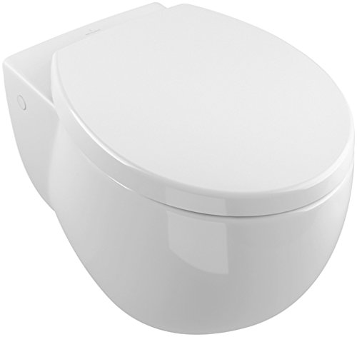 Washdown WC (bowl only), 400 x 590 mm, Concealed trapway, Wall-mounted - Villeroy Boch Baths