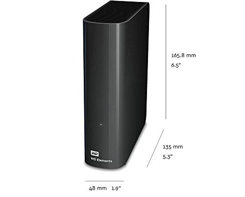 WD 8TB Elements Desktop Hard Drive, USB 3.0 - WDBWLG0080HBK-NESN