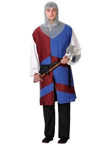 DISBACANAL Disfraz Medieval lancero Hombre - Único, XL ...