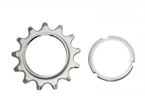 13T Track Fix Cog 1/8 Chrome. Bike cog, bicycle cog for track bike, fixies, fixed gear bikes by Lowrider