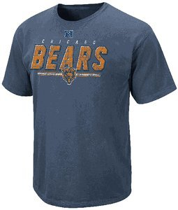 Chicago Bears Vintage Roster II T Shirt by VF-Pigment Blue (M)