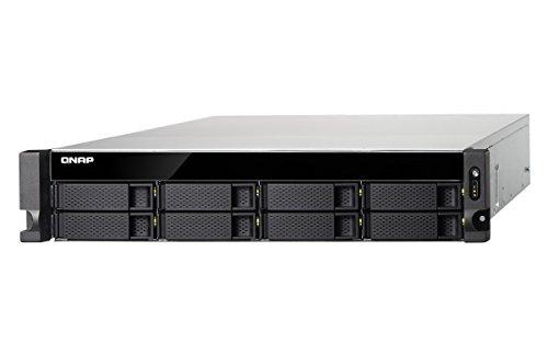 Qnap TS-853BU-RP-8G-US 2U 8-bay NAS/iSCSI IP-SAN,10GbE-ready, PCIe Expansion Slot, Redundant PSU by QNAP (Image #2)