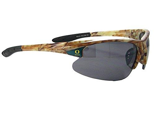 Oregon Ducks UO Camo Action NCAA Mens Sunglasses - Action Sunglasses