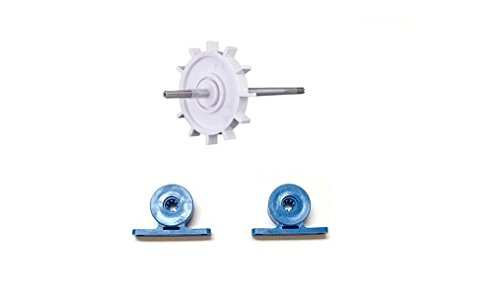 2 Pack Turbine Bearing + Drive Shaft For Polaris Cleaner 180 / 280 C80 C86 (Polaris Turbine)