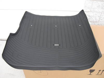 BMW 3 Series All Weather Trunk Mat Sedan (2006-2011) Coupe (2006-2013) - Black