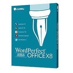 Corel(R) WordPerfect(R) Office X8 Home And Student Edition, Traditional Disc
