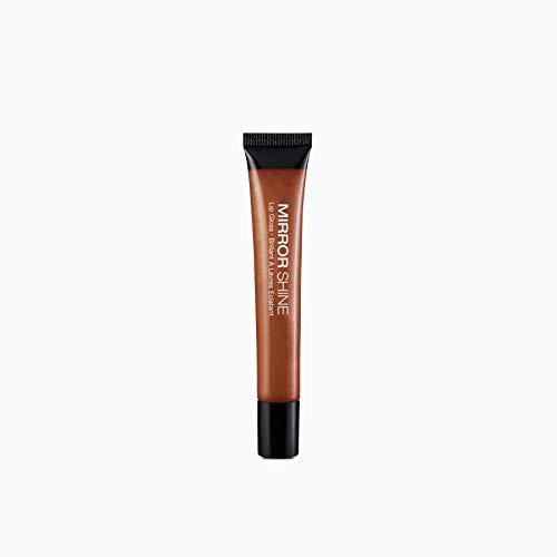 Mirror Shine Lip Gloss - Kiss New York Professional Mirror Shine Lip Gloss 0.33oz, Smoked Copper