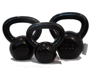10lb, 20lb & 30lb Cast Iron G2 Kettlebell Set - Combo Special - Free 2-3 Day Shipping by USA Sports