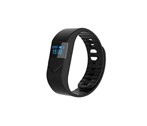 TinyDeal Unisex Heart Rate Sleep Monitor Smart Watch - Black from TinyDeal