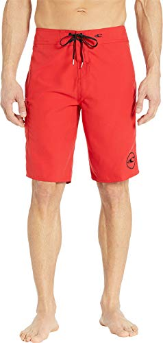 O'Neill Men's Santa Cruz Solid 2.0 Boardshorts Red 1 28 ()