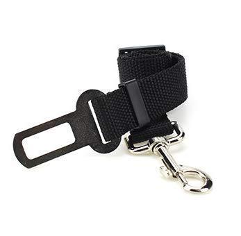 per cani auto regolabile con design di buffer elastico. VOYAGE Premium Cintura di sicurezza per cani auto con doppio gancio di sicurezza e 2 strati di tessuto di nylon ad alta densit/à