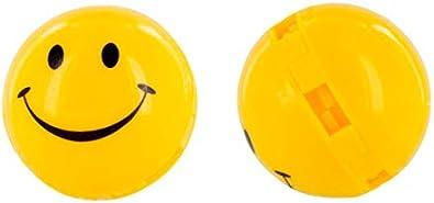 Sof Sole SofSole SneakerBalls HappyFace Shoe Deo Desodorante de zapatos, Amarillo (Yellow), Talla Única