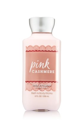 Bath & Body Works Pink Cashmere Shea & Vitamin E Body Lotion, 8 Ounce