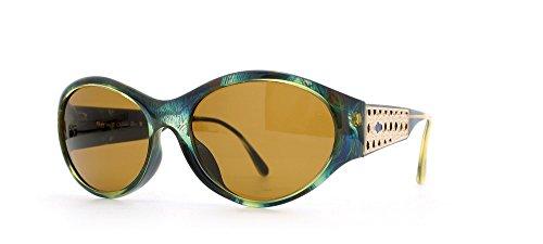 Christian Dior 2766 50 Green Certified Vintage Rectangular Sunglasses For - Sunglasses 2014 Dior