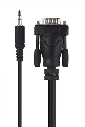Belkin Micra Digital Laptop to TV VGA Audio Video Cable - F3S009-10 - 10 Feet