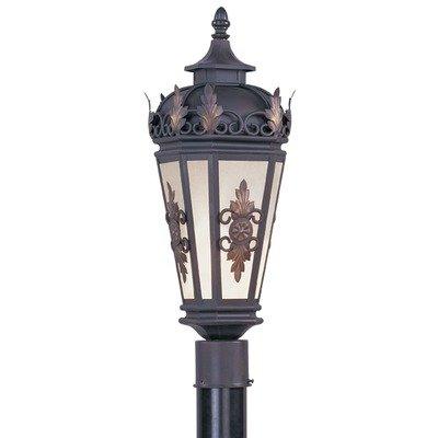 Berkshire Outdoor Post Lantern in Bronze Size: 22