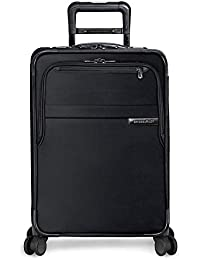 Baseline-Softside CX Expandable Carry-On Spinner Luggage, Black, 22-Inch