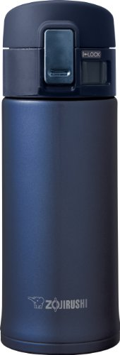 (Zojirushi SM-KHE36AG Stainless Steel Mug, 12-Ounce, Smoky Blue)