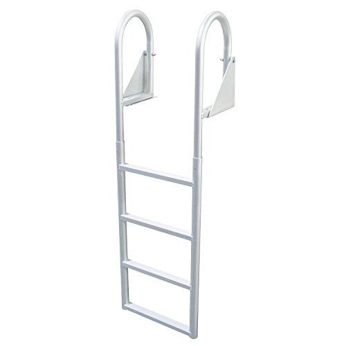 Extreme Max 3005.3473 Flip-Up Dock Ladder, 4 (4 Step Dock Step)
