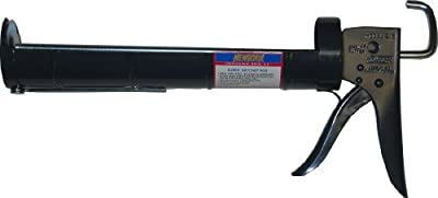 Newborn 215 Super Ratchet Rod Cradle Caulking Gun, 1/4 Gallon Cartridge, 6:1 Thrust Ratio