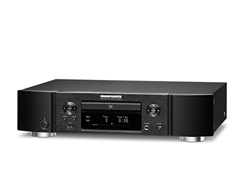 - Marantz ND8006 Low-Profile 4-in-1 Digital Media Player: CD Player, Music Streamer, DAC & Pre-amp | with Airplay 2, Bluetooth & HEOS | Amazon Alexa Compatibility