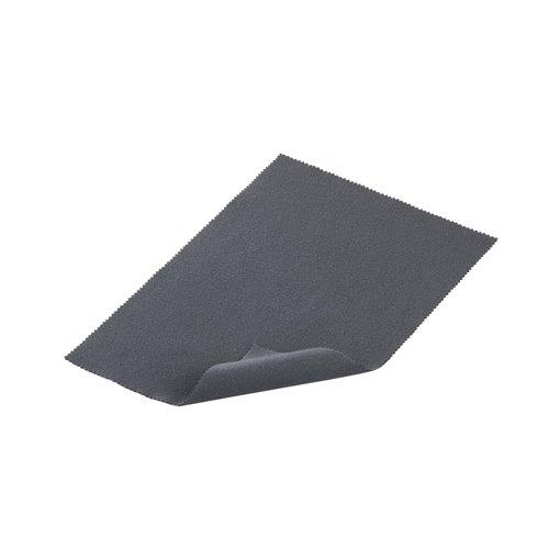 iBUFFALO 【iPadmini,iPad(Retinaディスプレイ),全キャリア・全機種対応タブレットPC】タブレット端末用クリーニングクロス(グレー)トレシーZR BSIPD06TCS-GY