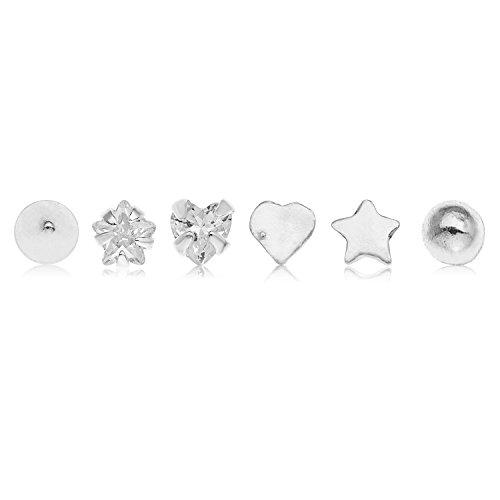 Damen-Piercing Nase Sterling-Silber 925 0,9 cm C78CTN2499