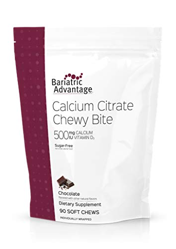 Cheap Bariatric Advantage – 500mg Calcium Citrate Chewy Bite – Chocolate, 90 count