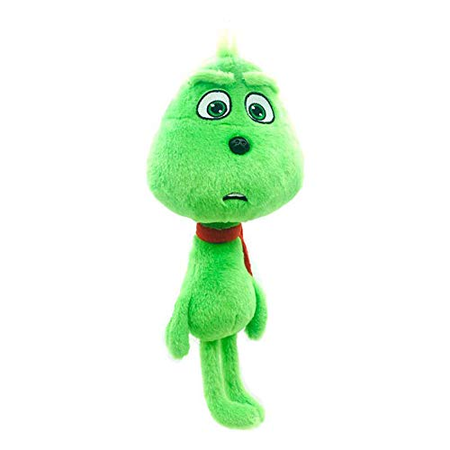 Dr Seuss 28cm Halloween The Green Monster Grinch Doll Cosplay Plush Stuffed Animals Doll Toys Collection
