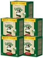 GREENIES Dental Chews Value Size Tub 36oz Regular - Case of 5 by Greenies
