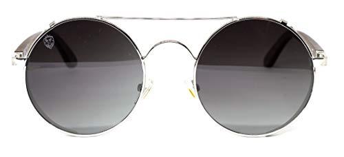 Óculos De Sol De Madeira E Metal Vito, MafiawooD
