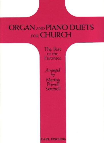 Organ and Piano Duets for Church (Duets Piano Organ)