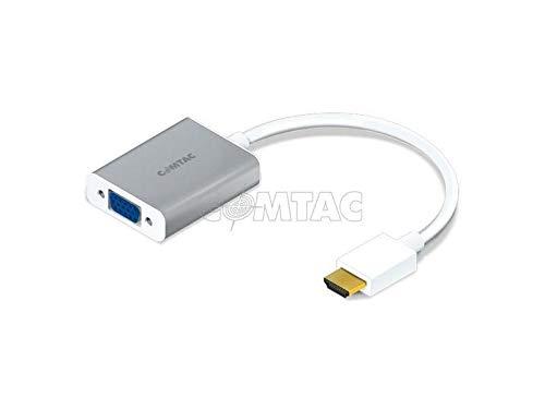 Cabo Conversor HDMI para VGA + Audio - COMTAC - 9274