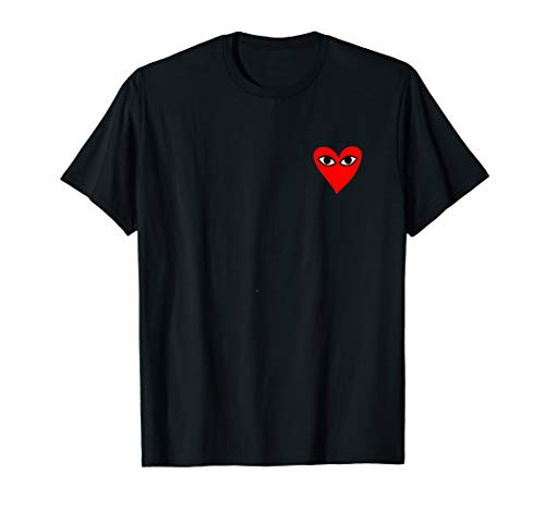 fe597d726642b Heart-For-Comme-Lovely-In-The-Des-Gift-T-Shirt-Of-Garcon-Tee