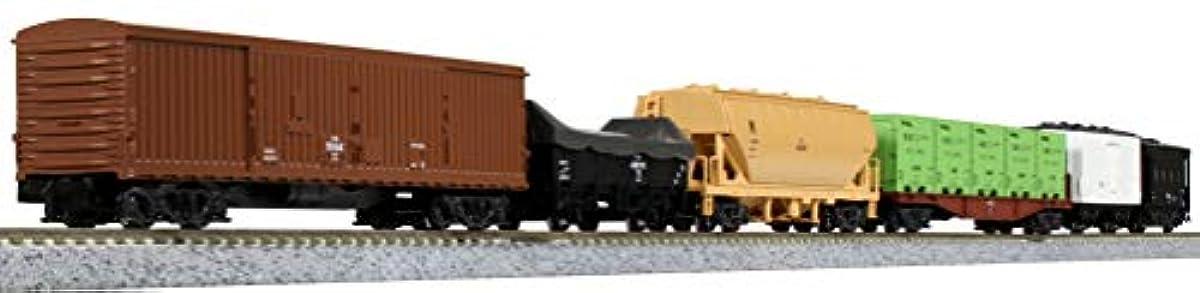 [해외] KATO N게이지 화물열차 6 양세트 10-033 철도 모형 화물차
