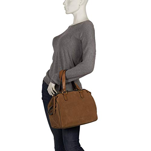 Caqui de Marrón para FREDsBRUDER hombro al 4250813635296 mujer canela cuero Bolso qxAOvf
