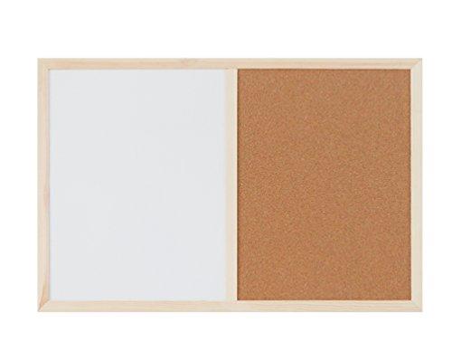 Dry Erase Board Cork Board - TASOON Dry Erase Board & Cork Board Combination, 15