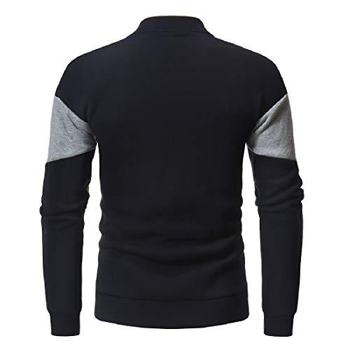 Men Howme College Relaxed Fleece Navy Contrast Lightweight Cotton blue Jacket drvxprwgqP